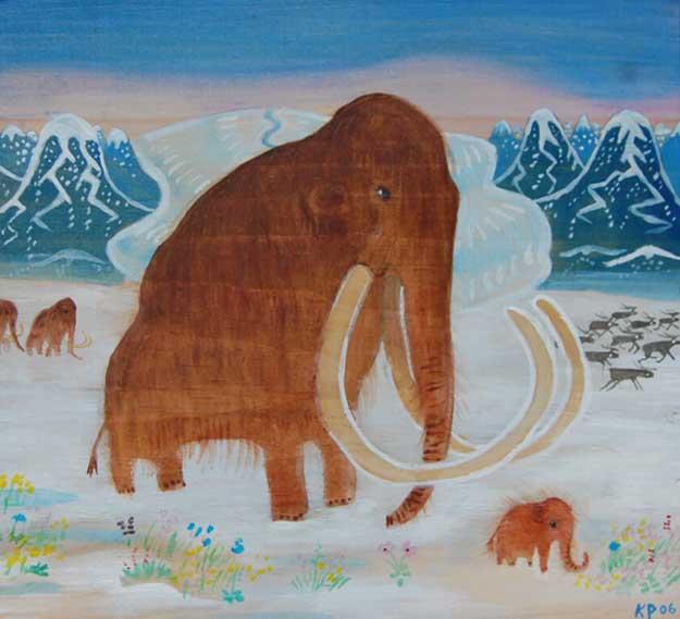 mammoth family