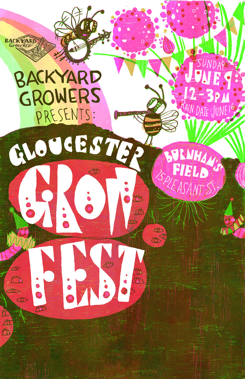 Back Yard Growers GROW FEST POSTER 72