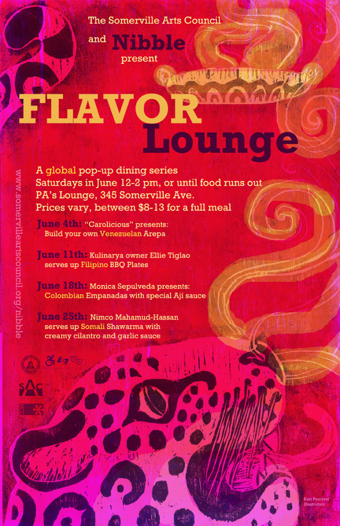 Flavor Lounge Poster