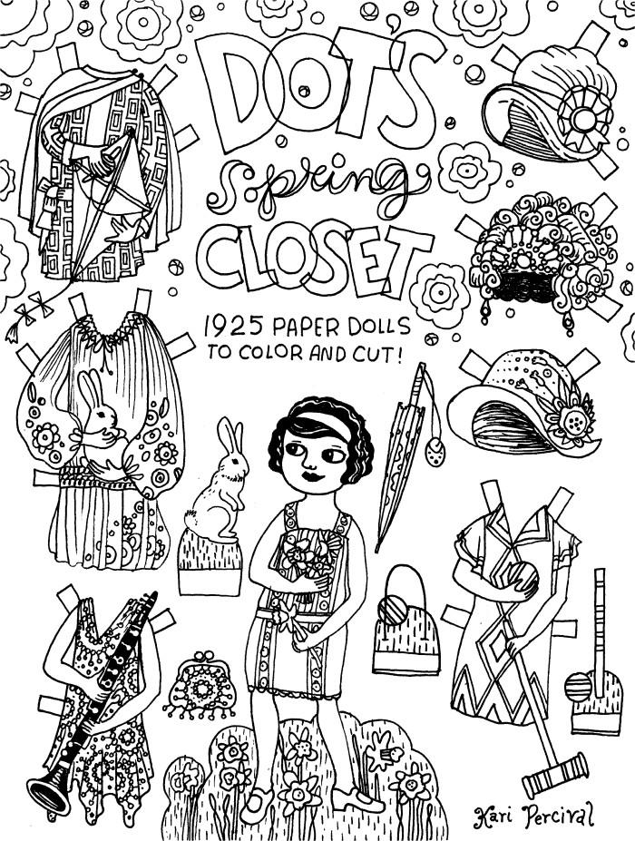 Dot's Spring Closet