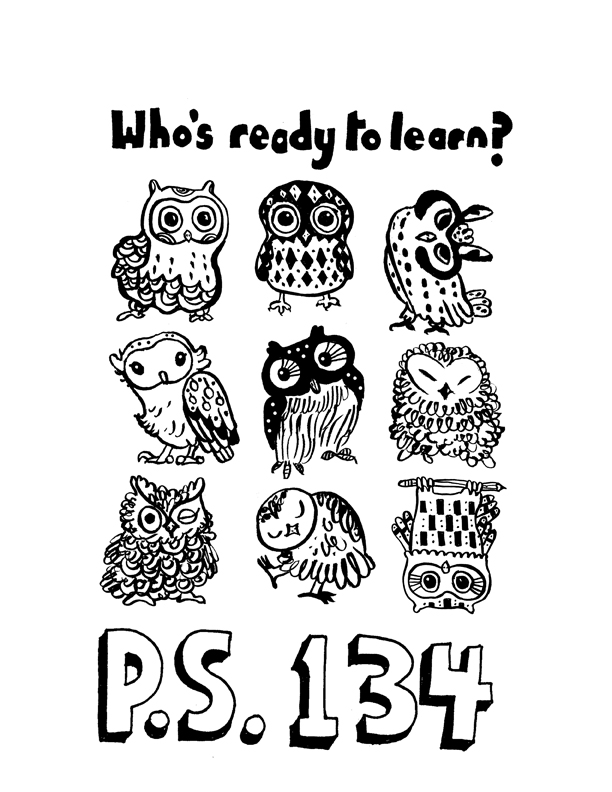 Who's ready to learn? PS 134