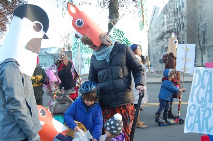 Woodland Animal Parade Masks