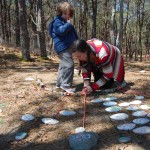 "Installing ""We are Here: Bioregional Locator"" at Dunes Edge Campground"