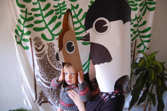 Forest Parade Masks