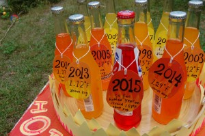 Hottest 11 years on record bottles