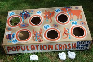 Population Crash Bean Bag Game