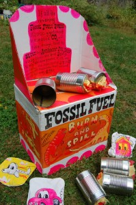 Burned and Spilled Fossil Fuel