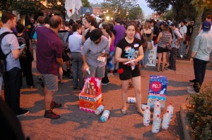 Climate Change Carnival Games at the Pity Party