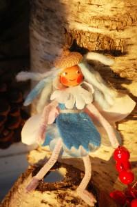 frosty blue fairy doll