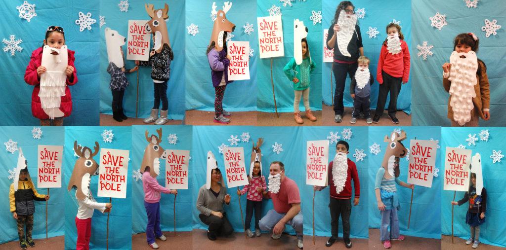 Santa Parade Workshop Group Photo