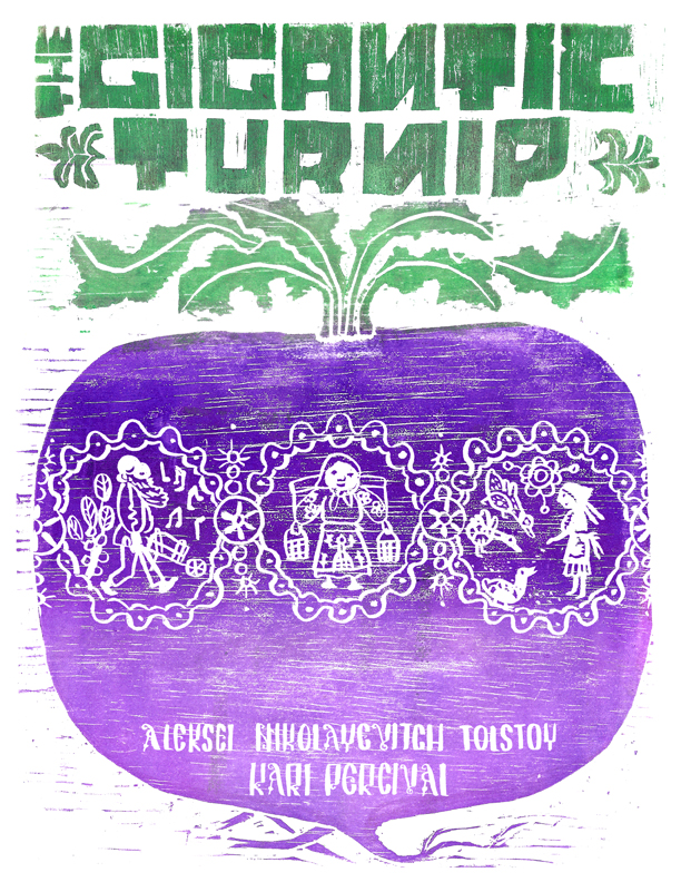 Book Cover Design for The Gigantic Turnip