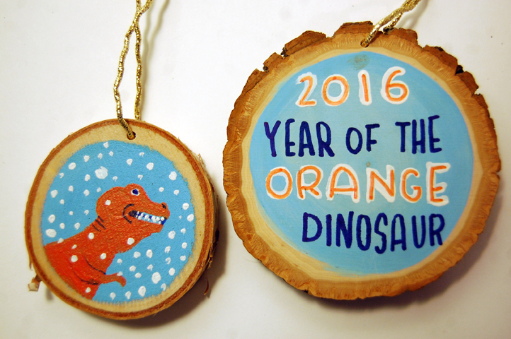 Year of the Orange Dinosaur