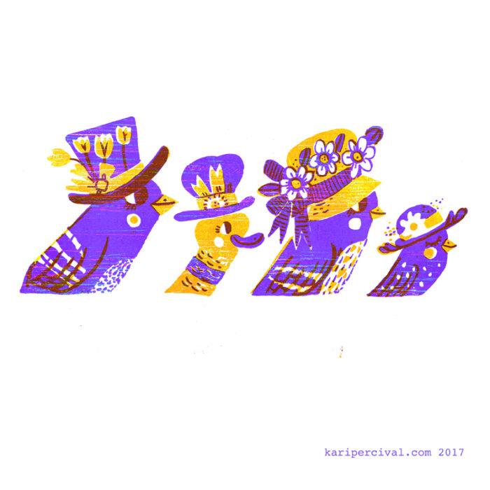 Fancy Bonnet Parade