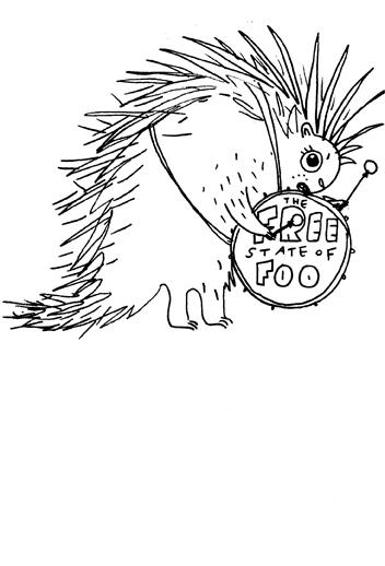 3. Porcupine drummer
