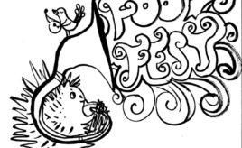 5. Porcupine sousaphone