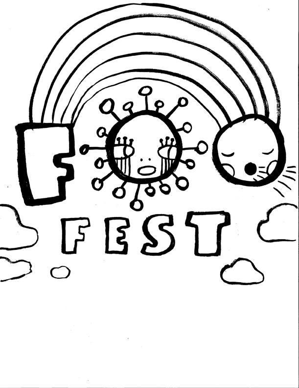 8. Rainbow Foo Fest