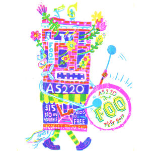 FOO FEST 2017 AS220 bass drum