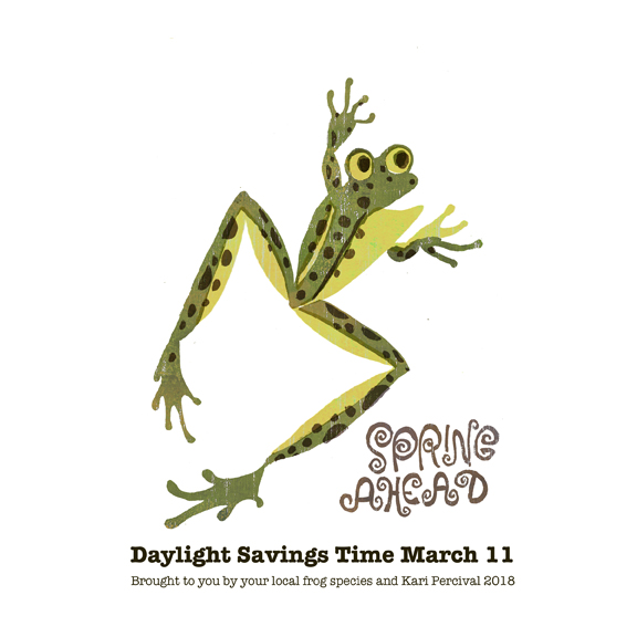 Spring Ahead! DAylight Savings Time March 11