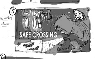 Safe_Crossing_Cover_sketches2:tones:flat