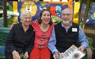 I got to meet my idols: Barbara and Ed Emberly
