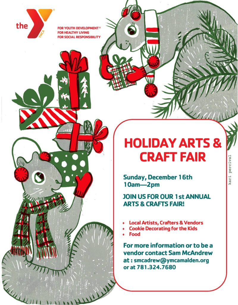YMCA Holiday Arts & Crafts Fair