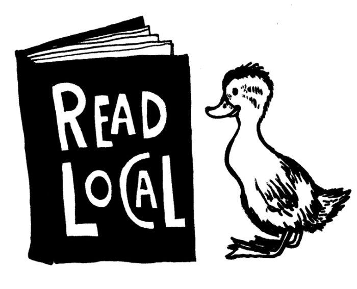 Read Local Duck Logo