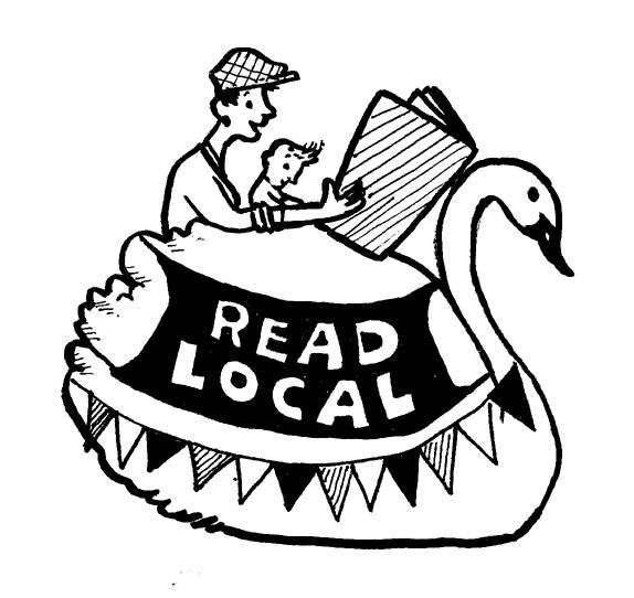 Read Local Swan Boat Logo